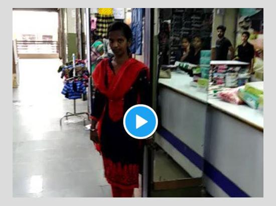 A Garment Store Where All Employees Speak In Sanskrit