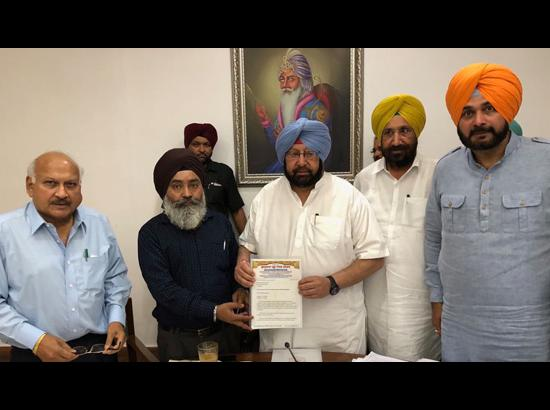 Punjab CM announces Rs. 50 lakh grant for Sikh community in Shillong