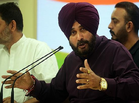 Country on path to extreme hunger, famine: Navjot Singh Sidhu