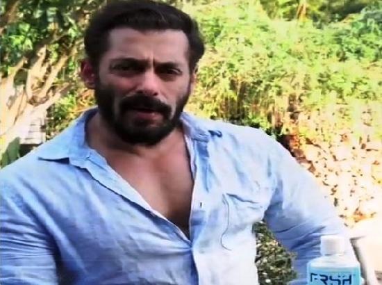 It's very essential to do sanitisation: Salman Khan