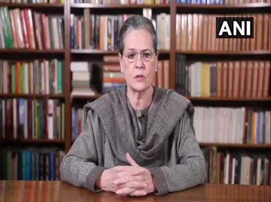 Sonia Gandhi to hold meeting with party general secretaries, in-charges on farmers' issue