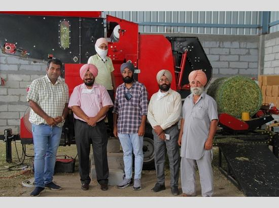 Punjab Govt. to provide 40% subsidy on Silage Baler-cum-wrapper machines: Tript Bajwa