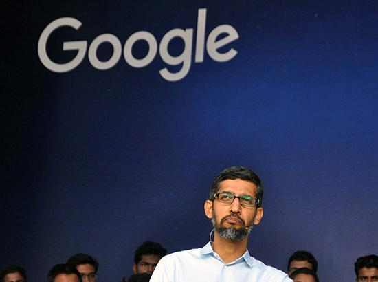Google search engine in China at exploratory stage: Sundar Pichai