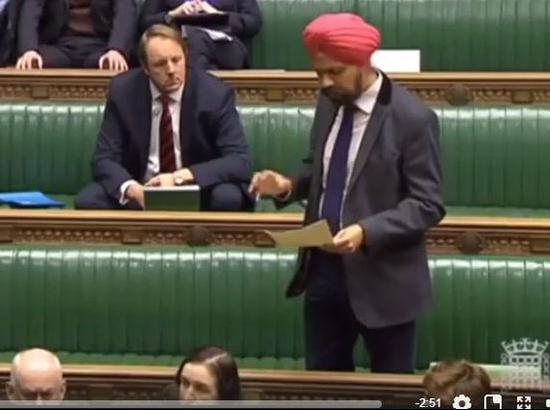 MP Dhesi reiterates demand to set up Sikh War Memorial as UK Parliament debates over role of War Heroes  ( Watch Video )