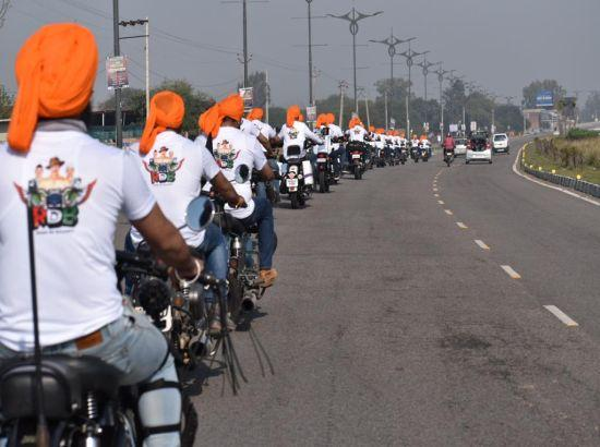 Pan India ride by Thumpers Cafe against drugs