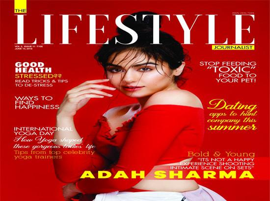 Adah Sharma's fitness secrets revealed during magazine cover shoot