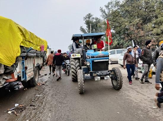 Tractor march held by farmers around the Delhi borders makes history