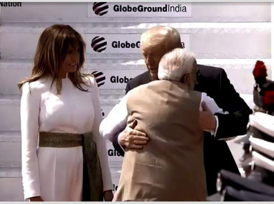 Chemistry on display: PM Modi, Donald Trump share at least 6 hugs during Ahmedabad events