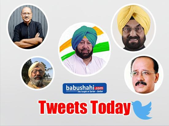 Read : Today's Tweets of Some Prominent Perso