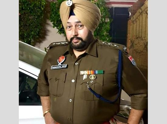 DGP Punjab mourns death of DSP Varinder Pal Singh