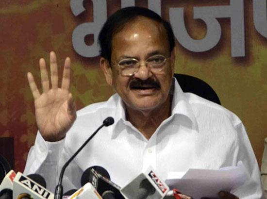 Venkaiah Naidu is NDA's vice-presidential nominee