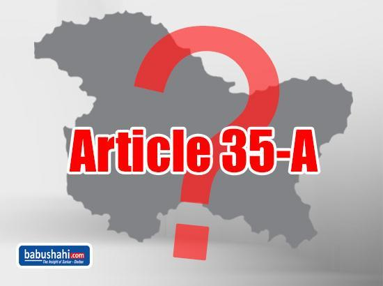 Do you know what is the controversial Article 35A of Indian The Constitution?