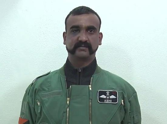 In Pak Propaganda Video :  Abhinandan slams Indian media, praises Pak army again