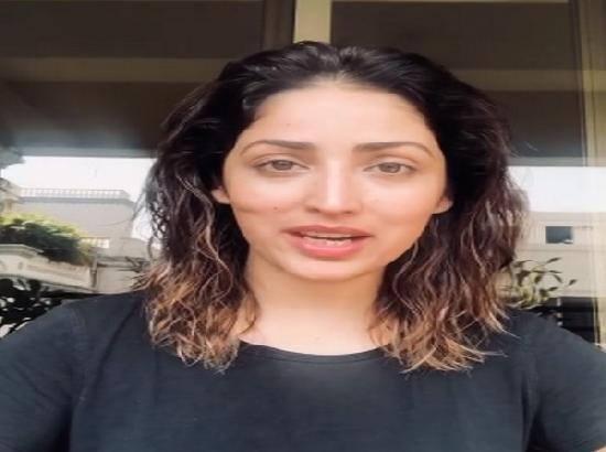 Yami Gautam urges people to stay home to prevent spread of COVID-19