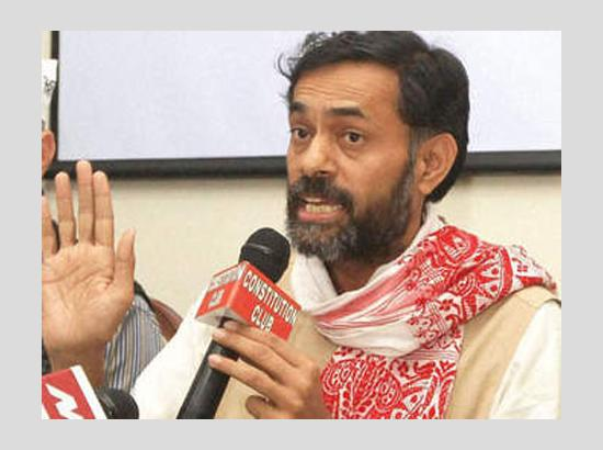 Yogendra Yadav Ridicules Modi's claim To divert water from Pakistan for Haryana