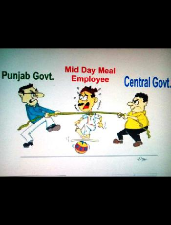 Plight of Pb.Mid-Day Meal Employees